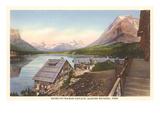 Going-to-the-Sun Chalets, Glacier Park, Montana Prints