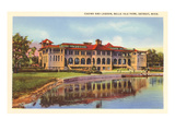 Casino, Belle Isle, Detroit, Michigan Print