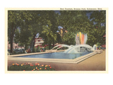 Bronson Park, Kalamazoo, Michigan Prints