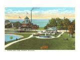 Mineral Well-Park, Petoskey, Michigan Kunstdrucke