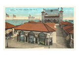 Garden Pier, Atlantic City, New Jersey Posters