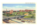 Hospital Hill, Kansas City, Missouri Prints