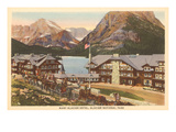 Many Glacier Hotel, Glacier Park, Montana Prints