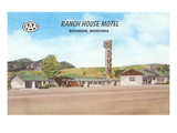 Ranch House Motel, Bozeman, Montana Prints