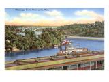 Mississippi River, Minneapolis, Minnesota Posters