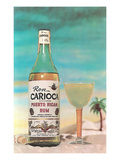 Puerto Rican Rum and Daiquiri, Retro Prints