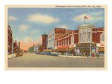 Washington Avenue, Bay City, Michigan Prints