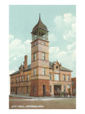 City Hall, Ironwood, Michigan Poster