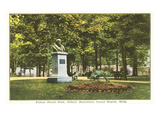 Gilbert Monument, Grand Rapids, Michigan Print