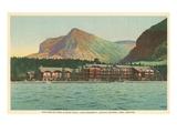 Many Glacier Hotel, Glacier Park, Montana Posters