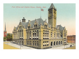 Post Office and Custom House, Omaha, Nebraska Poster