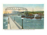 Iron Ore Boat, Duluth, Minnesota Posters