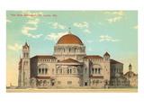 Cathedral, St. Louis, Missouri Prints