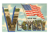 Victory, Flag Poster
