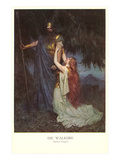 Scene from Die Walkure Posters