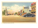 Main Street, Mackinaw City, Michigan Posters