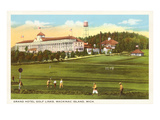 Grand Hotel, Mackinac Island, Michigan Poster