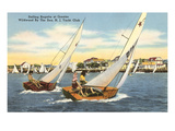 Sailing Regatta, Wildwood-by-the-Sea, New Jersey Poster