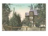 Bonner Residence, Missoula, Montana Prints