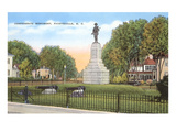 Confederate Monument, Fayetteville, North Carolina Prints
