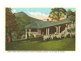 Mt. Pisgah, Vanderbilt Estate, North Carolina Posters