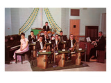 School Dance Band, Retro Prints