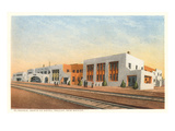 El Navajo Hotel, Gallup, New Mexico Prints