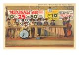 Marimba Band in Tijuana Print