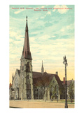 Central Church, Detroit, Michigan Print