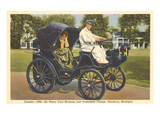 1894 Daimler, Greenfield Village, Dearborn, Michigan Art