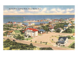 View over Stone Harbor, New Jersey Kunstdrucke