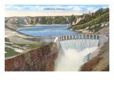 Polson Dam, Montana Art
