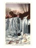 Frozen Minnehaha Falls, Minneapolis, Minnesota Prints
