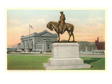 Washington Monument, Kansas City, Missouri Print