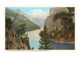 Gates of the Mountains, Montana Kunstdruck