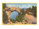 Arch Rock, Mackinac Island, Michigan Prints