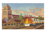 Train Depot, Albuquerque, New Mexico Prints