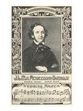 Felix Mendelssohn and Wedding March Prints