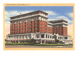 Admiral Hotel, Cape May, New Jersey Print