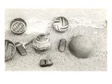 Anasazi Pottery, Axe Heads, Arrow Shaper Poster