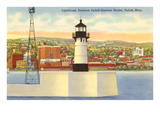 Lighthouse, Duluth Harbor, Minnesota Prints