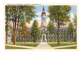 Nassau Hall, Princeton University, New Jersey Prints