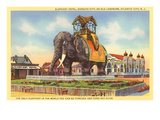 Elephant Hotel, Atlantic City, New Jersey Poster
