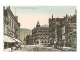 Front Street, Missoula, Montana Prints
