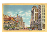 Broad Street, Newark, New Jersey Poster