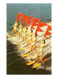 Waterski Extravaganza Art