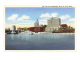 Skyline, St. Paul, Minnesota Print