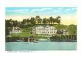 Colonial Hotel, Lake Junaluska, North Carolina Prints