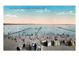 Lake Calhoun Public Baths, Minneapolis, Minnesota Posters