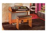 Wurlitzer Organ, Retro Poster